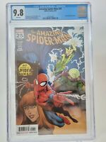 AMAZING SPIDER-MAN #25 CGC 9.8 GRADED WHITE PAGES 2019 MARVEL RYAN OTTLEY COVER