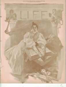 1897 Life April 1 - Love on the golf course; South Africa alliance; Democrats