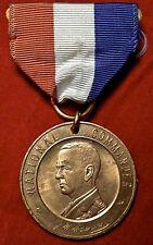 Vintage DISABLED AMERICAN VETERANS NATIONAL COMMANDER MEDALLION w/Ribbon