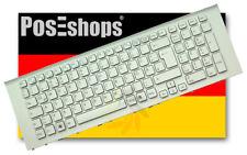 Orig. QWERTZ Tastatur Sony Vaio VPCEJ2Z1E VPC-EJ VPCEJ Serie DE Weiß Rahmen Neu