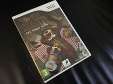 Yogi Bear The Video Game NINTENDO Wii Brand New Sealed PAL Version