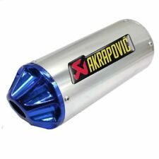 Exhaust Pipes Blue Motorcycle Mufflers