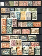 French Morocco and Morocco used collection on three stockpages