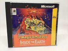 Microsoft Magic School Bus Inside the Earth CD-ROM Disk