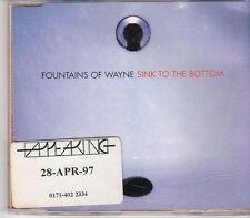 (EK851) Fountains Of Wayne, Sink To The Bottom - 1997 DJ CD