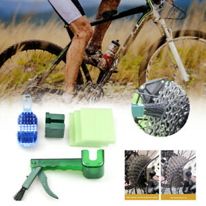 Bike Chain Cleaner Chain Cleaning Tool Flywheel Cassette Clean Kit ChainScrubber
