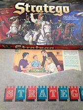 STRATEGO Lot of Two (2) Board Games 1996 Version Vintage Stratego 1961 Complete