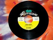 TINY MORRIE Almost Heaven b/w Cada Dia Te Quiero Mas HURRICANE RECORDS 1966 VG+