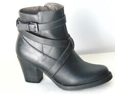 Natural Soul Yvelle Western Inspired Boot Color: Black  US: 6