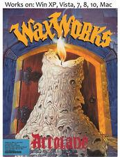 WaxWorks 1992 PC Mac Game