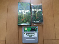 Secret of Mana SNES with Box and manual Japan Super Famicom 068