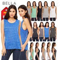 Bella + Canvas Women's Flowy Scoop Muscle TanK Top Shirt M-B8803