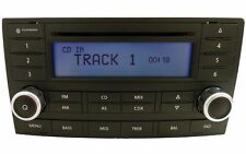 VW Touareg single CD radio. Volkswagen OEM factory original stereo