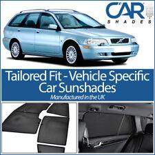 Volvo V40 Estate 96-04 UV CAR SHADES WINDOW SUN BLINDS PRIVACY GLASS TINT BLACK