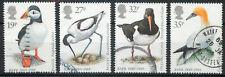 GB 1989 RSPB birds set SG1419-1422 used