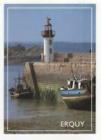 Erquy Le Port De Peche France Postcard 204c