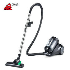 PUPPYOO 2200W Cyclone Canister Vacuum Cleaner P9AU for Carpet HardFloor Cleaning