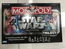 Monopoly: Original Star Wars Trilogy Edition new very collectable mint condition