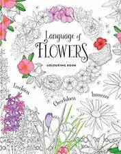 LANGUAGE OF FLOWERS COLOURING BOOK,BAKER & TAYLOR