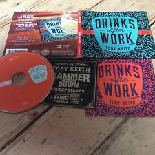 Drinks After Work - Toby Keith (2013, CD Deluxe ED