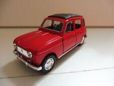 Renault 4L R4 Rouge 1/38 Welly NEUF Boite d'origine