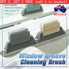 Window Groove Track Cleaning Brushing Sill Gap Crevice Dust Cleaner Tool Brush//
