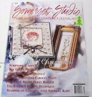 Somerset Studio Magazine Nov/Dec 1998 Scriptorium Arts Carolyn Waitt