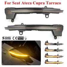 Dynamic LED Side Mirror Turn Signal Light For Seat Ateca Cupra Tarraco 2016-2019