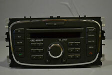 #005 FORD FOCUS MK2 CAR RADIO STEREO AM FM CD PLAYER 6000 CD P/N 7M5T-18C815-BA