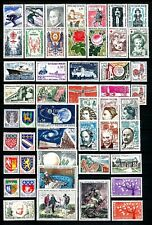 FRANCE  1962 Année Complète 49 Timbres neufs ★★ luxe / MNH