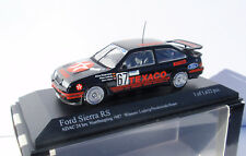 FORD SIERRA RS 500 #67 TEXACO 24 NURBURGRING 1987 1/43 MINICHAMPS 430878067