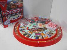 Disney Pixar Lightning McQueen Race Track Monopoly Complete E5