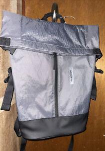 $120.00 BNWT Men's Adidas Future Roll Top Backpack, Black