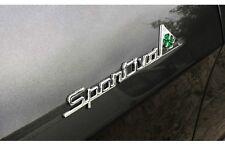 2 loghi stemma Alfa Romeo SPORTIVA QUADRIFOGLIO VERDE  Giulietta Mito fregi