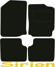 Daihatsu Sirion DELUXE QUALITY Tailored mats 2005 2006 2007 2008 2009 2010