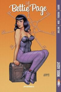 BETTIE PAGE VOL #2 MODEL AGENT GRAPHIC NOVEL Dynamite Comics Collects #5-8 TPB