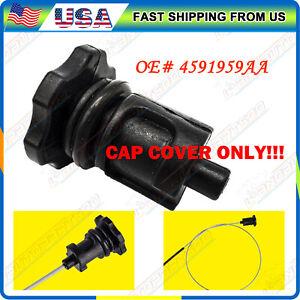 Transmission Oil Dipstick Filler Tube CAP COVER For Chrysler Dodge Jeep Ram
