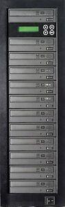 MediaStor #a09 1-11, 1 to 11 Target 24X DVD LiteOn Burner Duplicator Replication