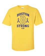 Boston B Strong Marathon America Tribute April 15, 2013 Men's Tee Shirt