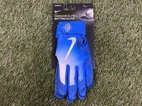 Nike Huarache Elite Baseball Batting Gloves Royal Blue White SZ ( GB0448-410 )