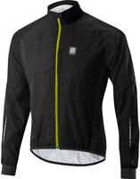 Altura Peloton Waterproof Mens Cycle Jacket Black Lightweight Packable Bike Ride