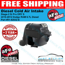 AFE Stage-2 Si Intake for 2010-2012 Dodge Ram 6.7L Diesel Trucks 51-82032-E NEW