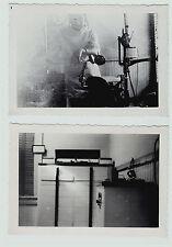 RARE- 2 Photos ID'd Dentist Interior Office Chair Equipment c 1930s Penn Yan NY
