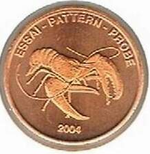 Noorwegen 2004 (B) probe-pattern-essai - 5 eurocent - Krab / Crab