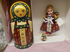 "Madame Alexander ~ RUSSIA ~ with signed nesting eggs 24150 8"" International"