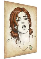Poster Wanted - The Witcher - Triss Merigold