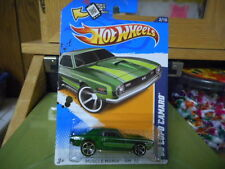 2012 Hot Wheels Muscle Mania - '12 '68 COPO Camaro Green  MONMC (see picture)