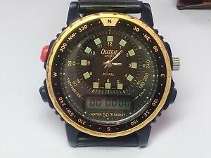 Custom Build  Ana-Digi Divers Watch - T480 Movement - Chateau Dial (JC316)