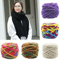 KQ_ IC- Thick Cotton Knitting Woolen Yarn Ball DIY Handcraft for Sweaters Scarve