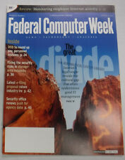 Federal Computer Week Magazine The Great Divide February 2002 071415R